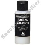 Auxiliary Products: Gloss Metal Varnish