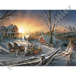 1000 Piece Jigsaw Puzzle - The Pleasures of Winter