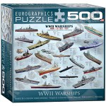 500 Piece Puzzle - World War II Warships