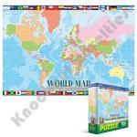 100 Piece Kids Puzzle - World Map