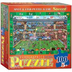 100 Piece Kids Puzzle - Soccer - Spot & Find