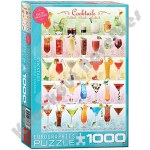 1000 Piece Puzzle - Cocktails