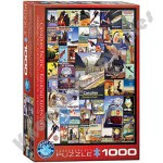 1000 Piece Puzzle - Canadian Pacific Railroad Adventures