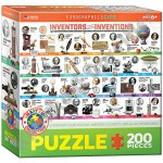 200 Piece Puzzle - Inventors and their Inventions