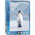 1000 Piece Puzzle - Penguin & Chick