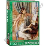 1000 Piece Puzzle - Girls on the Piano by Pierre-Auguste Renoir