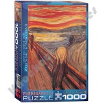 1000 Piece Puzzle - The Scream by Edvard Munch