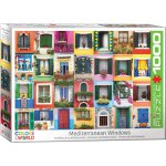 1000 Piece Puzzle - Mediterranean Windows