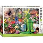 1000 Piece Puzzle - Garden Tools