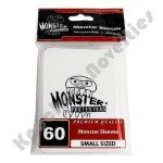 Deck Protector: Small Monster Logo White (60)