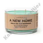 A New Home Candle