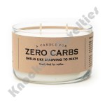 Zero Carbs Candle