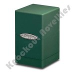 Satin Tower Deck Box: Green