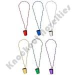 "Dozen - 33"" 7Mm Shot Glass Beads"