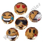 "Dozen - Plush 5"" Emoticon Sequin"