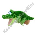 "13.5"" Grator The Alligator - Puppet"