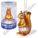 Ornament - Squirrel Underpants Glass