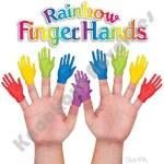 Set of 10 Finger Puppets - Rainbow Hand