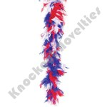 "72"" Red, White, Blue Boa"