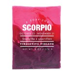 Scorpio - Astrology Soap