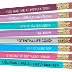 Aquarius - Astrology Pencils
