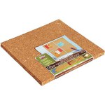 12 x 12 - 4ct Light Cork Tile