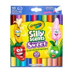 10 ct. Silly Scents Sweet Dual-Ended Markers