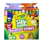20 ct. Silly Scents Sweet & Stinky Washable Broad Line Markers