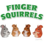 Finger Puppet - Finger Squirrel