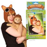 Hats - Squirrel & Acorn - Human/Cats