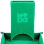 Dice Tower: Fold Up Velvet - Green