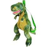 "Adventure Planet - 20"" Dino Backpack T-rex - Green"