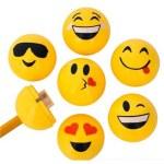 """24 Piece - 1.5"""" Emoticon Sharpener"""