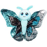 "Adventure Planet - 10"" Sequin Butterfly - Blue"