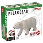 4D - 24 Piece Puzzle - Polar Bear