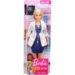 Barbie Careers: Curvy Blonde Doctor - White Coat with Stethoscope