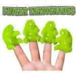 Set of 4 Finger Puppets - Tardigrade