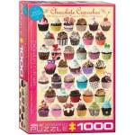 1000 Piece Puzzle - Chocolate Cupcakes