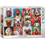 1000 Piece Puzzle - Funny Dogs by Lucia Heffernan