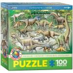 100 Piece Puzzle - Dinosaurs - Kids Puzzle