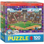 100 Piece Puzzle - Baseball - Spot & Find