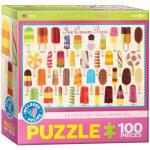 100 Piece Puzzle - Ice Cream Pops - Kids Sweets