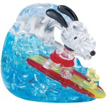 Bepuzzled - Crystal Puzzle - Snoopy and Woodstock Surf