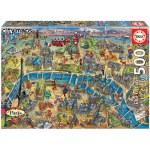 500 Piece Puzzle - PARIS MAP