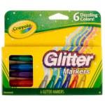 Crayola: 6 Glitter Markers