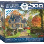 300 Piece Puzzle XL Pieces - The Blue Country Home by Dominic Davison