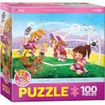 100 Piece Puzzle - Soccer - Go Girls Go!