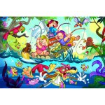 35 Piece Puzzle - The Three Little Pigs