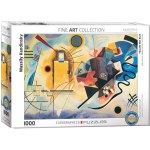 1000 Piece Puzzle - Yellow, Red, Blue by Wassily Kandinsky