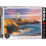 1000 Piece Puzzle - Peggy's Cove Lighthouse, Nova Scotia